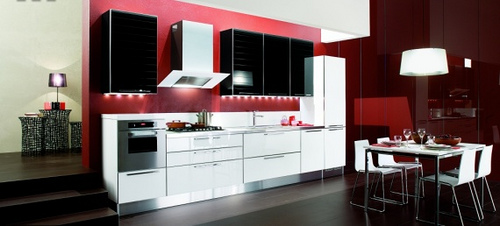 red and white kitchen ideas decora 231 227 o de cozinhas branco e preto 25556