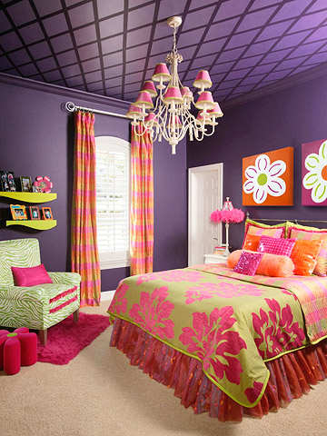 purple and orange bedroom decor decora 231 227 o de quartos roxo 19537